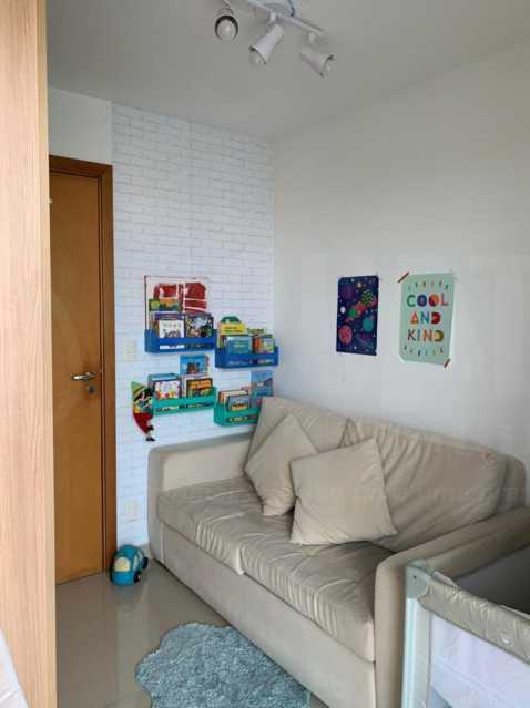 QUARTO 3. - Apartamento 3 quartos à venda Jacarepaguá, Rio de Janeiro - R$ 570.000 - PEAP30099 - 6