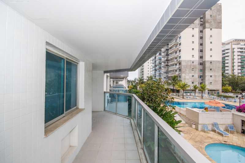 VARANDA - Apartamento 2 quartos à venda Jacarepaguá, Rio de Janeiro - R$ 560.350 - PEAP20452 - 3