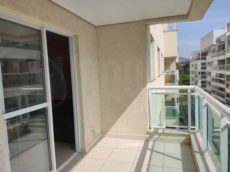 EV 1. - Cobertura 3 quartos para alugar Pechincha, Rio de Janeiro - R$ 1.420 - PECO30018 - 1