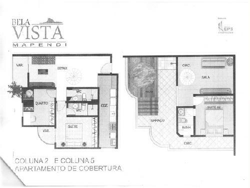 PLANTA - Cobertura 3 quartos à venda Taquara, Rio de Janeiro - R$ 597.975 - PC30027 - 5