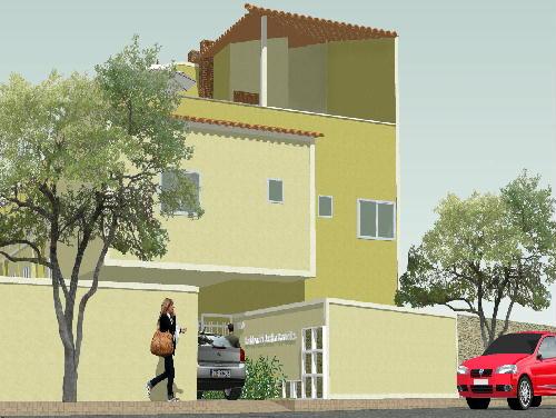 FACHADA FRONTAL - Casa Pechincha,Rio de Janeiro,RJ À Venda,3 Quartos,123m² - PR30099 - 3