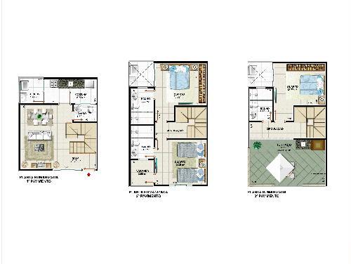 PLANTA - Casa 3 quartos à venda Pechincha, Rio de Janeiro - R$ 440.000 - PR30099 - 4