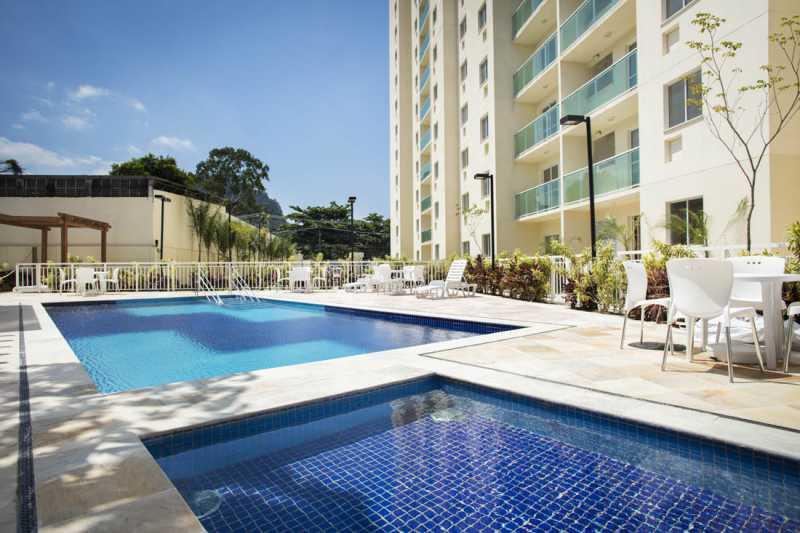 1A - Apartamento 2 quartos para venda e aluguel Curicica, Rio de Janeiro - R$ 275.000 - PEAP20052 - 1