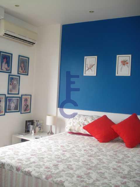 13 - quarto suite - Apartamento À VENDA, Grajaú, Rio de Janeiro, RJ - EC3886 - 12