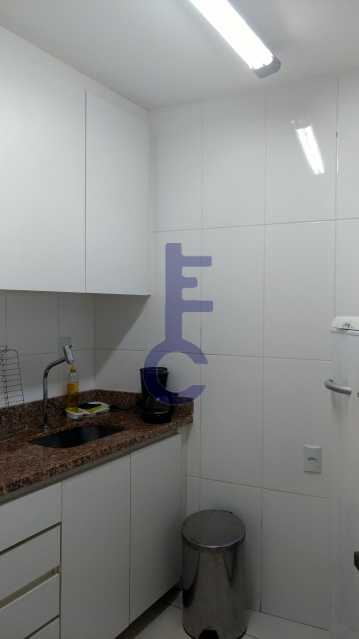 7 bancada cozinha - Sala Comercial 74m² à venda Penha Circular, Rio de Janeiro - R$ 280.000 - EC8237 - 19