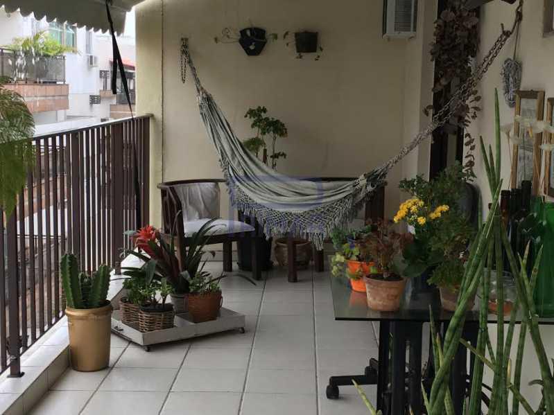 Varanda Fundos - Apartamento Para Venda e Aluguel - Recreio dos Bandeirantes - Rio de Janeiro - RJ - MECO3002 - 21
