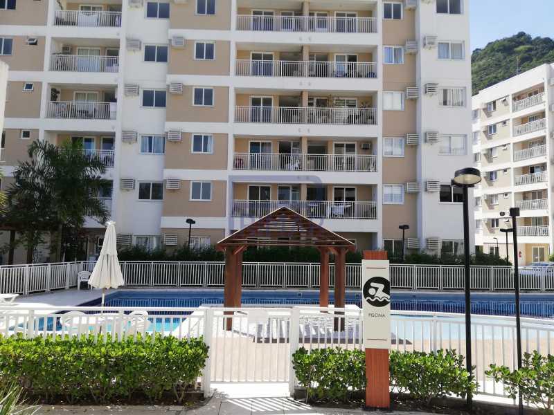 15 - Apartamento Estrada dos Bandeirantes,Curicica, Jacarepaguá,Rio de Janeiro, RJ À Venda, 2 Quartos, 68m² - MEAP30045 - 1