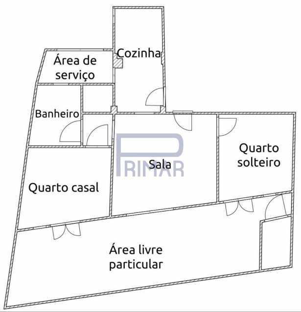 planta - Apartamento à venda Rua Rosa Saião,Gamboa, Rio de Janeiro - R$ 270.000 - MEAP20550 - 15