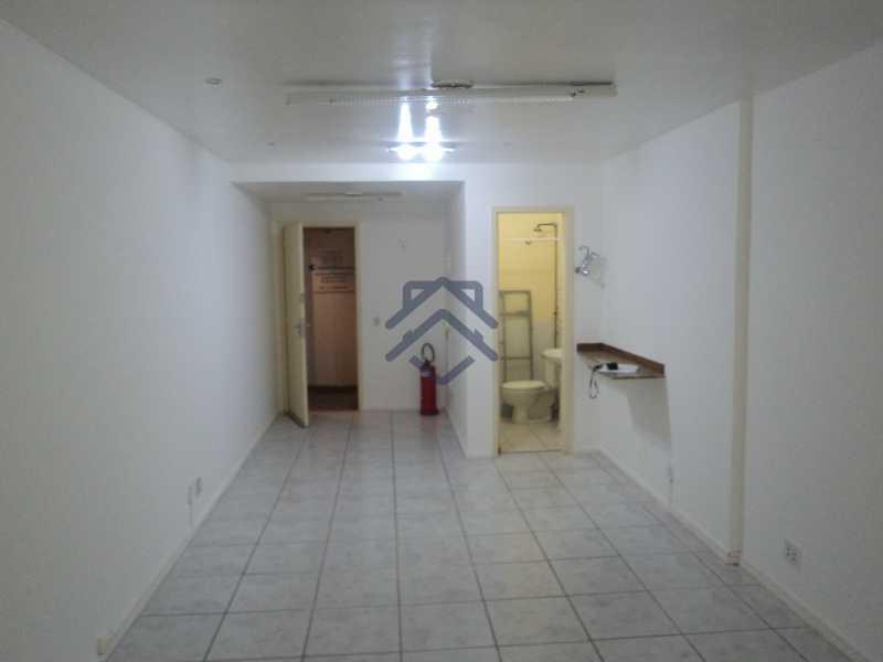 DSC03918 - Sala Comercial 35m² para alugar Avenida das Américas,Recreio dos Bandeirantes, Barra e Adjacências,Rio de Janeiro - R$ 800 - TJAP353 - 1