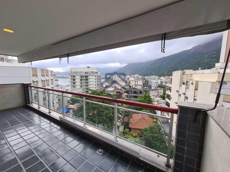 5 - Excelente Apartamento á Venda na Lagoa - MEAP226664 - 6