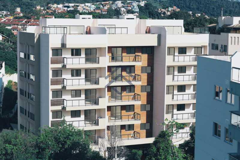 1 - Apartamento 3 quartos para alugar Anil, Jacarepaguá,Rio de Janeiro - R$ 2.450 - BAP31004 - 19