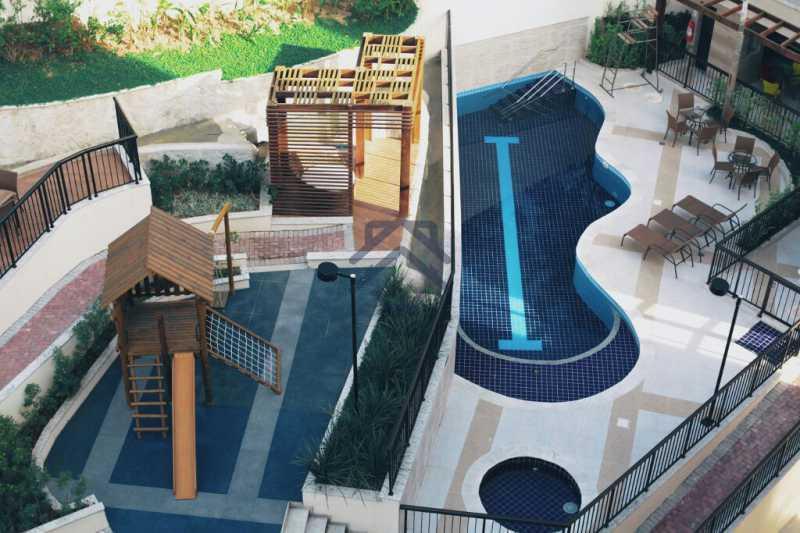 26 - Apartamento 3 quartos para alugar Anil, Jacarepaguá,Rio de Janeiro - R$ 2.450 - BAP31004 - 1