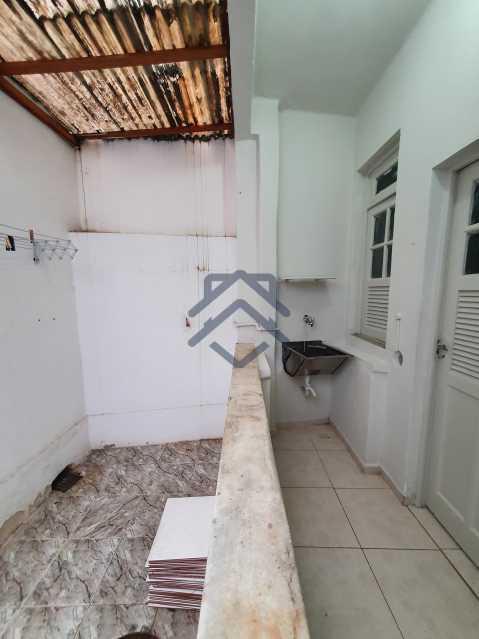 20210504_093358 - Apartamento com Quintal e 02 Quartos Tijuca - T88 - 25