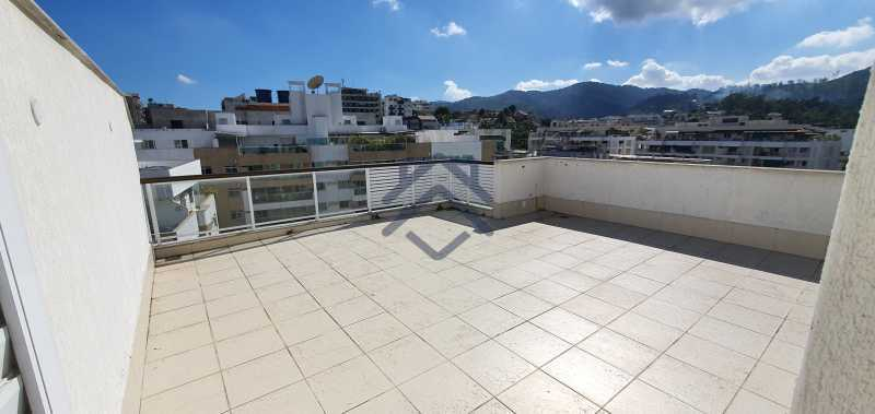 2 - Cobertura 2 quartos para alugar Anil, Jacarepaguá,Rio de Janeiro - R$ 3.250 - BACO1005 - 3