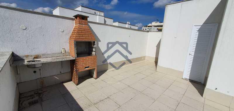 4 - Cobertura 2 quartos para alugar Anil, Jacarepaguá,Rio de Janeiro - R$ 3.250 - BACO1005 - 6