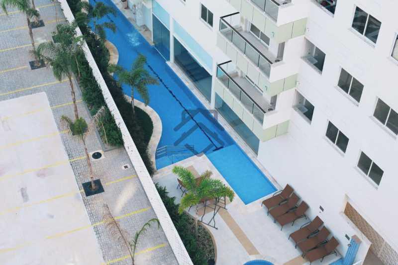 1 - Cobertura 2 quartos para alugar Anil, Jacarepaguá,Rio de Janeiro - R$ 3.250 - BACO1005 - 1