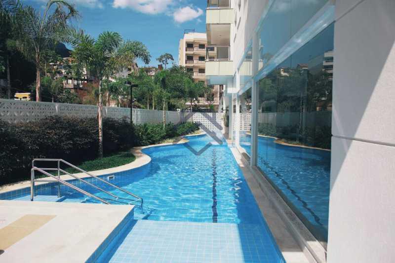 1 - Cobertura 2 quartos para alugar Anil, Jacarepaguá,Rio de Janeiro - R$ 3.250 - BACO10016 - 1