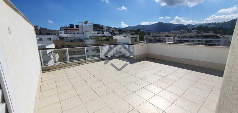 1 - Cobertura 3 quartos para alugar Anil, Jacarepaguá,Rio de Janeiro - R$ 3.450 - BACO10019 - 1