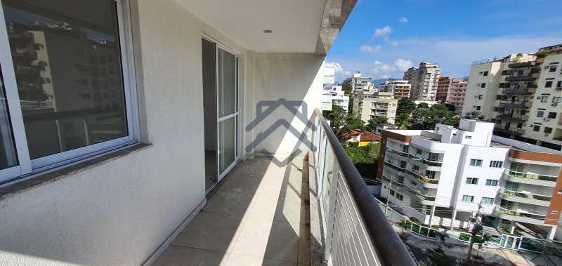 20 - Cobertura 3 quartos para alugar Anil, Jacarepaguá,Rio de Janeiro - R$ 3.450 - BACO10020 - 21