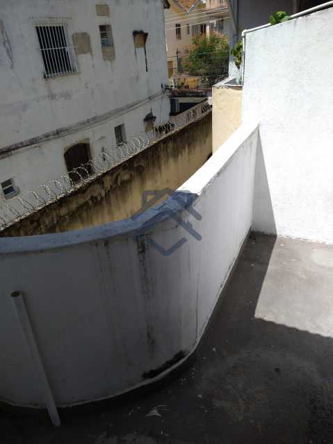 17 - Apartamento para alugar Rua Dom Bosco,Riachuelo, Rio de Janeiro - R$ 1.100 - 978 - 18