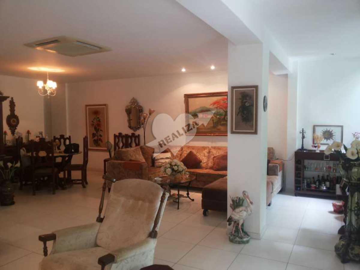 01 - Sala - Apartamento À Venda no Condomínio JARDIM OCEÂNICO - Barra da Tijuca - Rio de Janeiro - RJ - BTAP30059 - 1