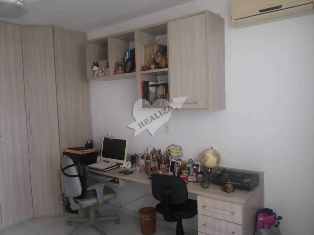 14 - 2º Quarto - Apartamento À Venda no Condomínio JARDIM OCEÂNICO - Barra da Tijuca - Rio de Janeiro - RJ - BTAP30059 - 13