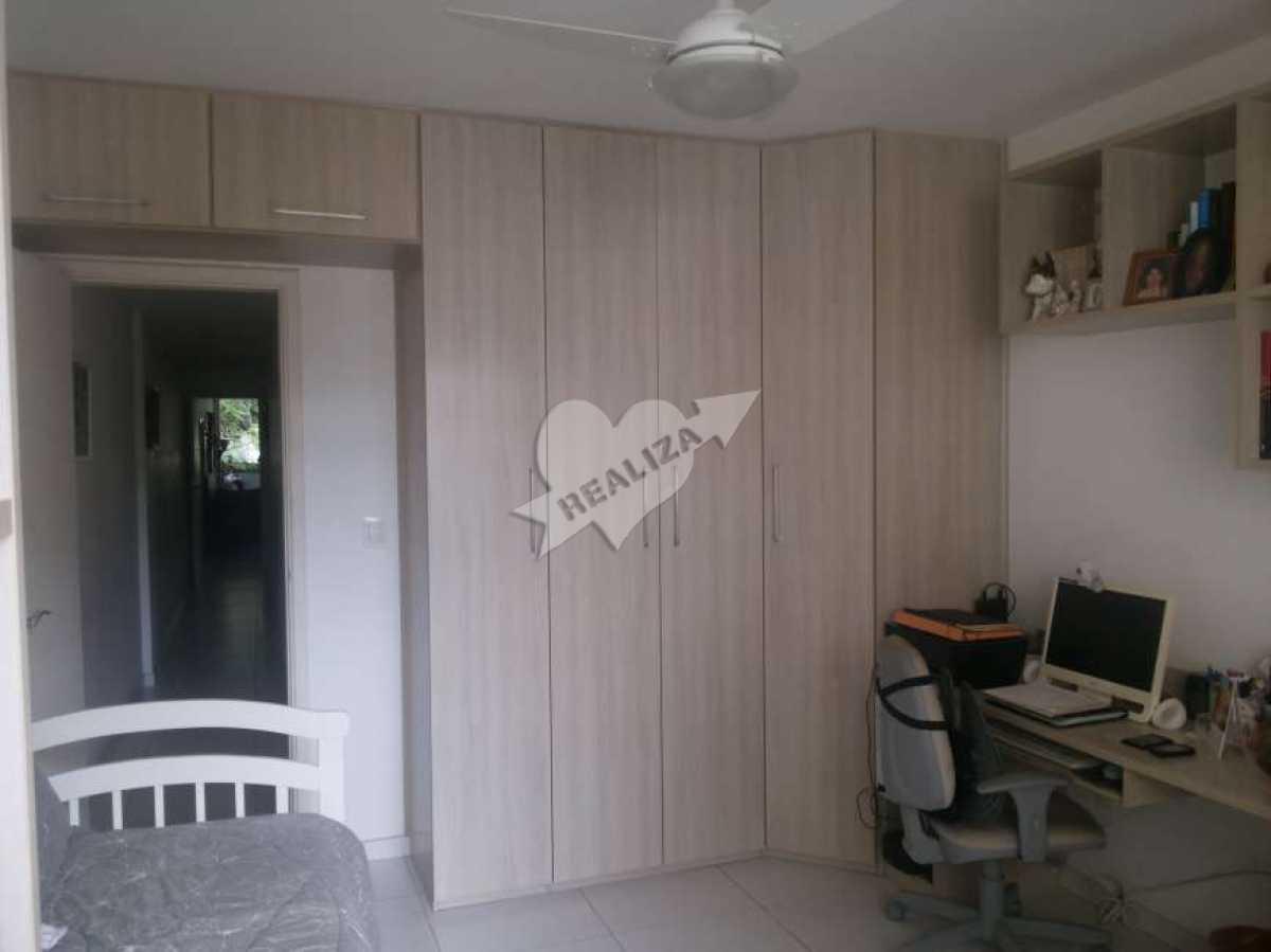 15 - 2º Quarto - Apartamento À Venda no Condomínio JARDIM OCEÂNICO - Barra da Tijuca - Rio de Janeiro - RJ - BTAP30059 - 12