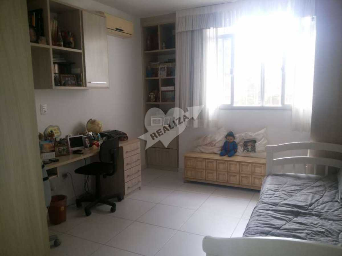 16 - 2º Quarto - Apartamento À Venda no Condomínio JARDIM OCEÂNICO - Barra da Tijuca - Rio de Janeiro - RJ - BTAP30059 - 15