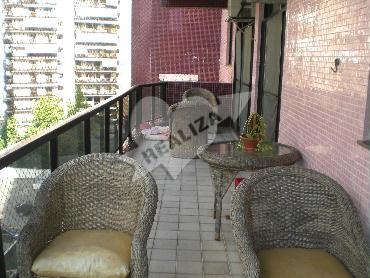 FOTO3 - Apartamento Condomínio PORTO SEGURO, Avenida Afonso Arinos de Melo Franco,Barra da Tijuca,Rio de Janeiro,RJ À Venda,3 Quartos,140m² - B33149 - 4
