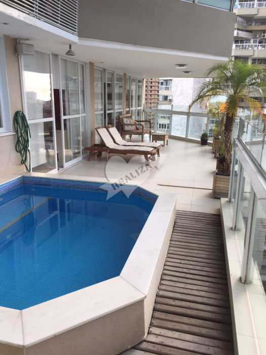 IMG_1997 - Apartamento Condomínio ATLANTICO SUL, Barra da Tijuca,Rio de Janeiro,RJ À Venda,4 Quartos,300m² - B42107 - 3