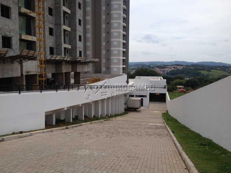 Acesso garagens - Fachada - Edifício Residencial Espanha - 105 - 3