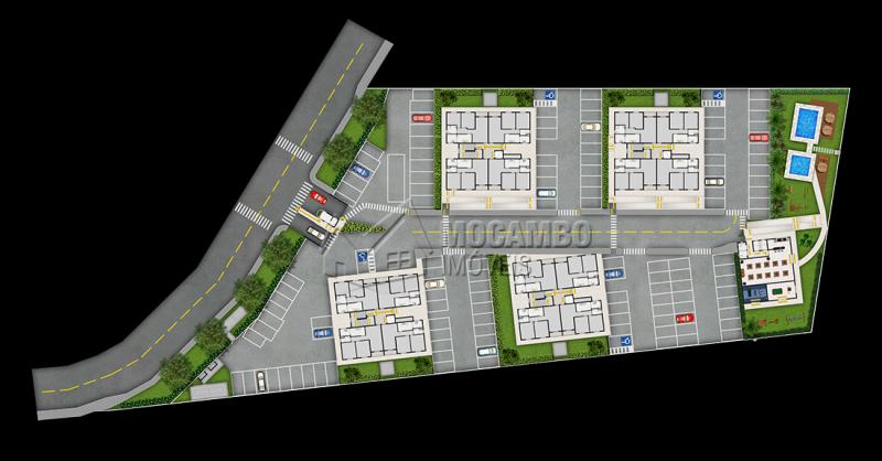 Implantação - Fachada - Residencial Villa Itália - 111 - 10