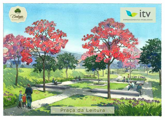 PRAÇA - Fachada - Ecologie Residencial Itatiba - 65 - 5