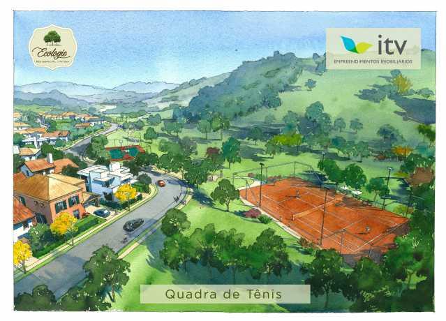 QUADRA DE TENIS - Fachada - Ecologie Residencial Itatiba - 65 - 8
