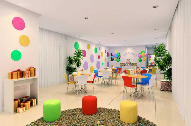 Salao de festas Infantil - Fachada - Finezzi Residence - 73 - 14