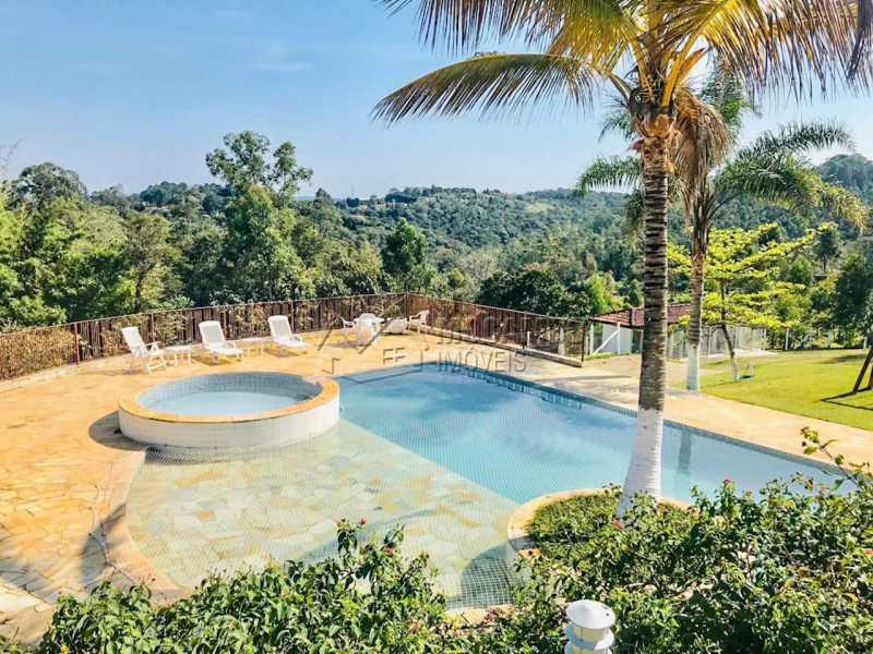 Vista piscina - Sítio 20000m² à venda Avenida Maritaca,Jundiaí,SP - R$ 2.900.000 - CS40006 - 18