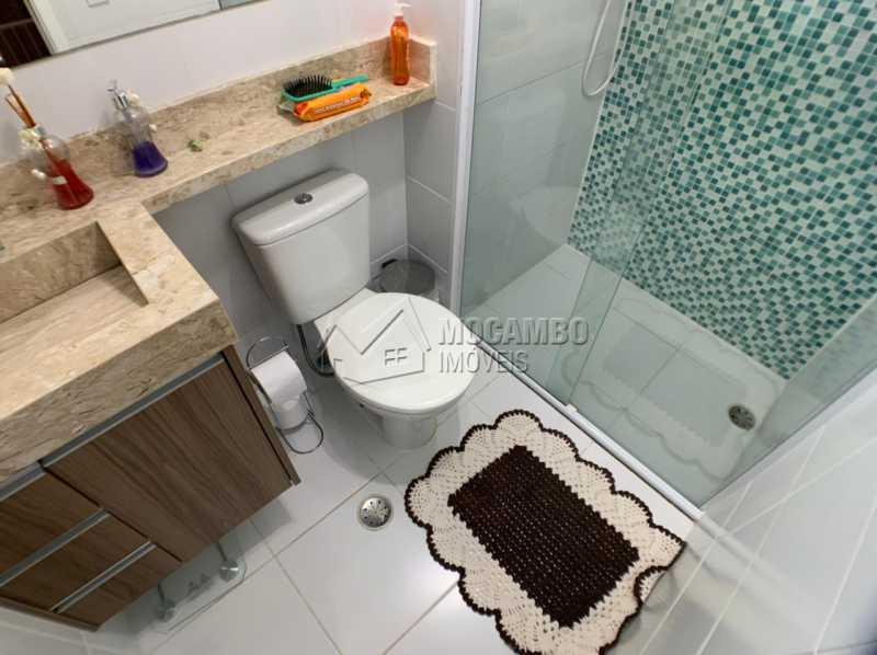 Banheiro  - Apartamento 2 quartos à venda Itatiba,SP - R$ 276.000 - FCAP21234 - 7
