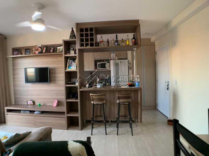 Sala  - Apartamento 2 quartos à venda Itatiba,SP - R$ 276.000 - FCAP21234 - 3