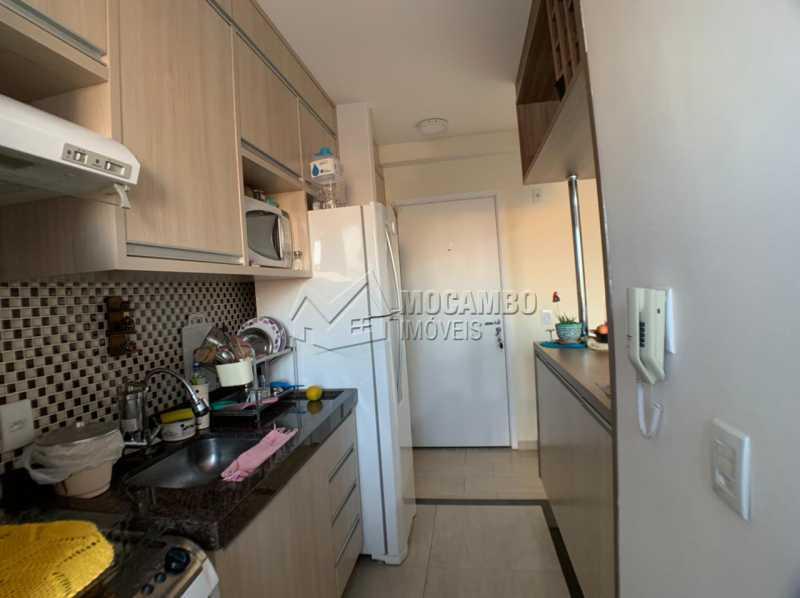 Cozinha - Apartamento 2 quartos à venda Itatiba,SP - R$ 276.000 - FCAP21234 - 6