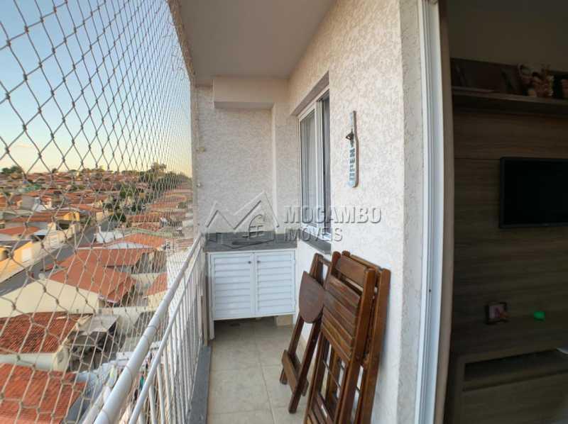 Varanda - Apartamento 2 quartos à venda Itatiba,SP - R$ 276.000 - FCAP21234 - 11