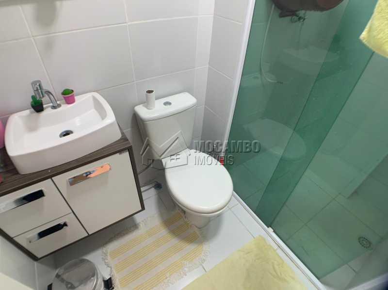 Banheiro  - Apartamento 2 quartos à venda Itatiba,SP - R$ 250.000 - FCAP21235 - 5