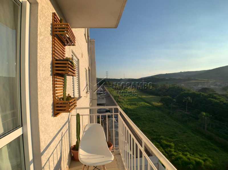 Varanda  - Apartamento 2 quartos à venda Itatiba,SP - R$ 250.000 - FCAP21235 - 8