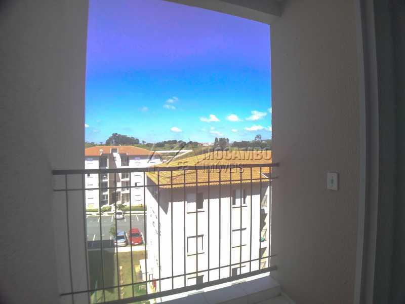 Sacada - Apartamento 2 quartos para alugar Itatiba,SP - R$ 1.400 - FCAP21237 - 12