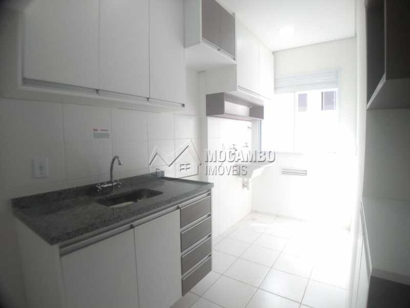 cozinha e lavanderia - Apartamento 2 quartos para alugar Itatiba,SP - R$ 1.400 - FCAP21237 - 18