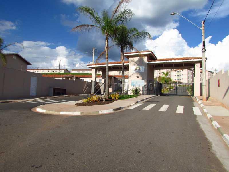 Portaria - Apartamento 2 quartos para alugar Itatiba,SP - R$ 1.400 - FCAP21237 - 1