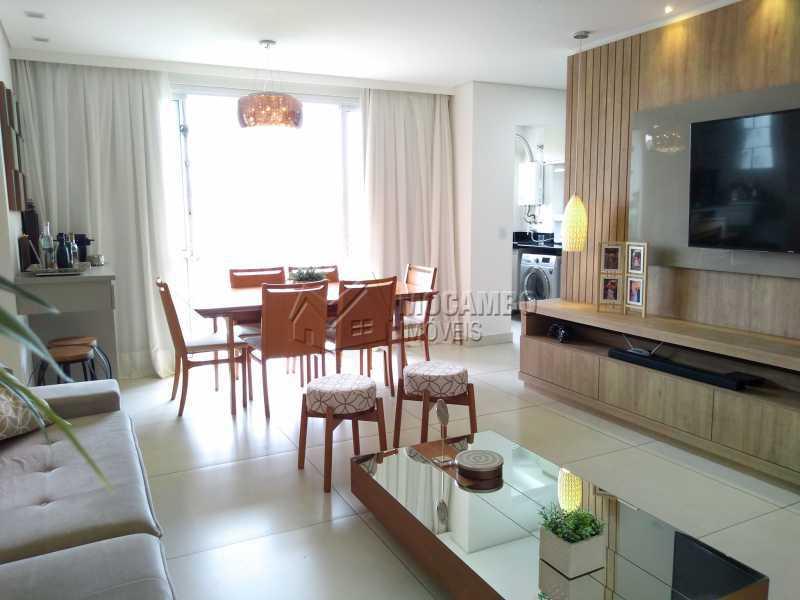 sala de jantar - Apartamento 3 quartos à venda Itatiba,SP - R$ 658.000 - FCAP30608 - 1
