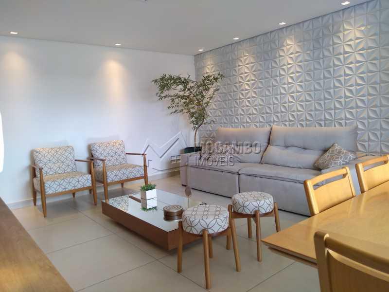 sala de tv - Apartamento 3 quartos à venda Itatiba,SP - R$ 658.000 - FCAP30608 - 3