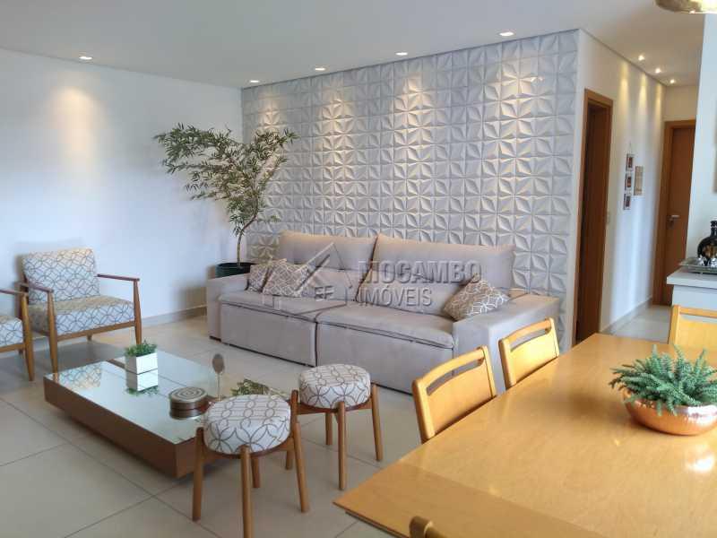 sala dois ambientes - Apartamento 3 quartos à venda Itatiba,SP - R$ 658.000 - FCAP30608 - 4