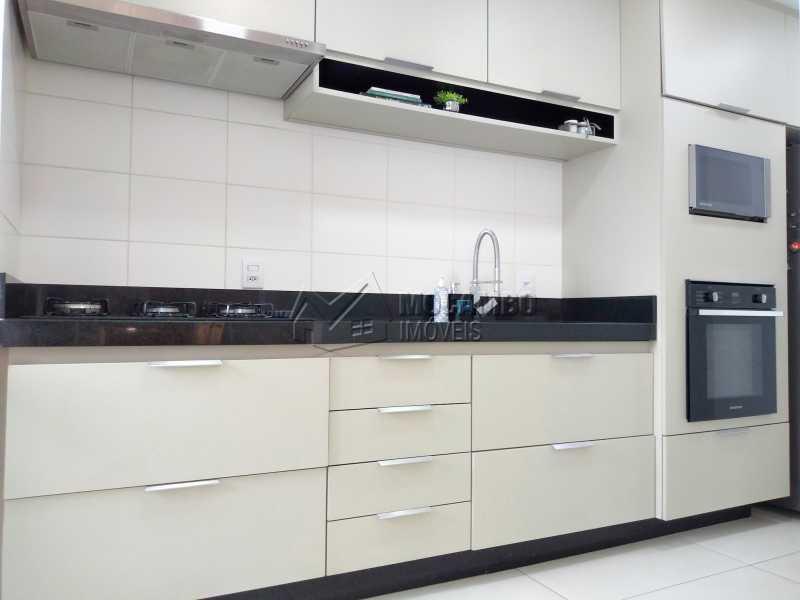 cozinha - Apartamento 3 quartos à venda Itatiba,SP - R$ 658.000 - FCAP30608 - 8