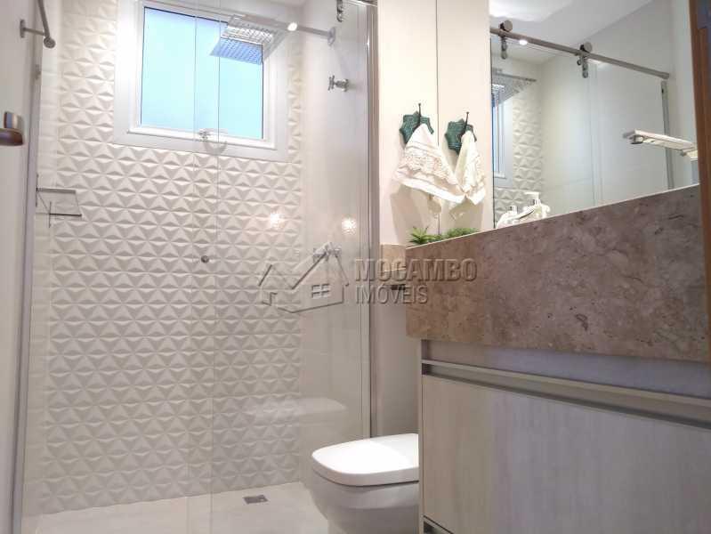 banheiro social - Apartamento 3 quartos à venda Itatiba,SP - R$ 658.000 - FCAP30608 - 15